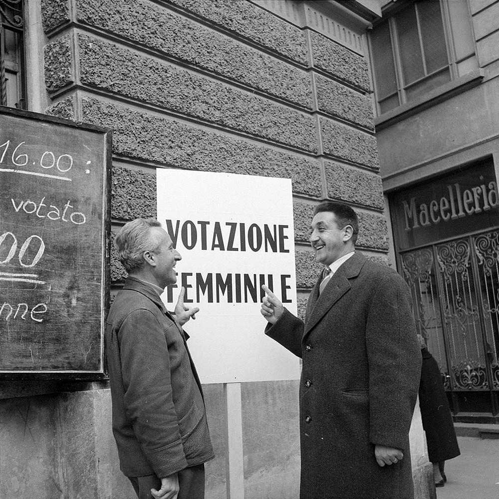 50 anni di diritto di voto e di elezione alle donne